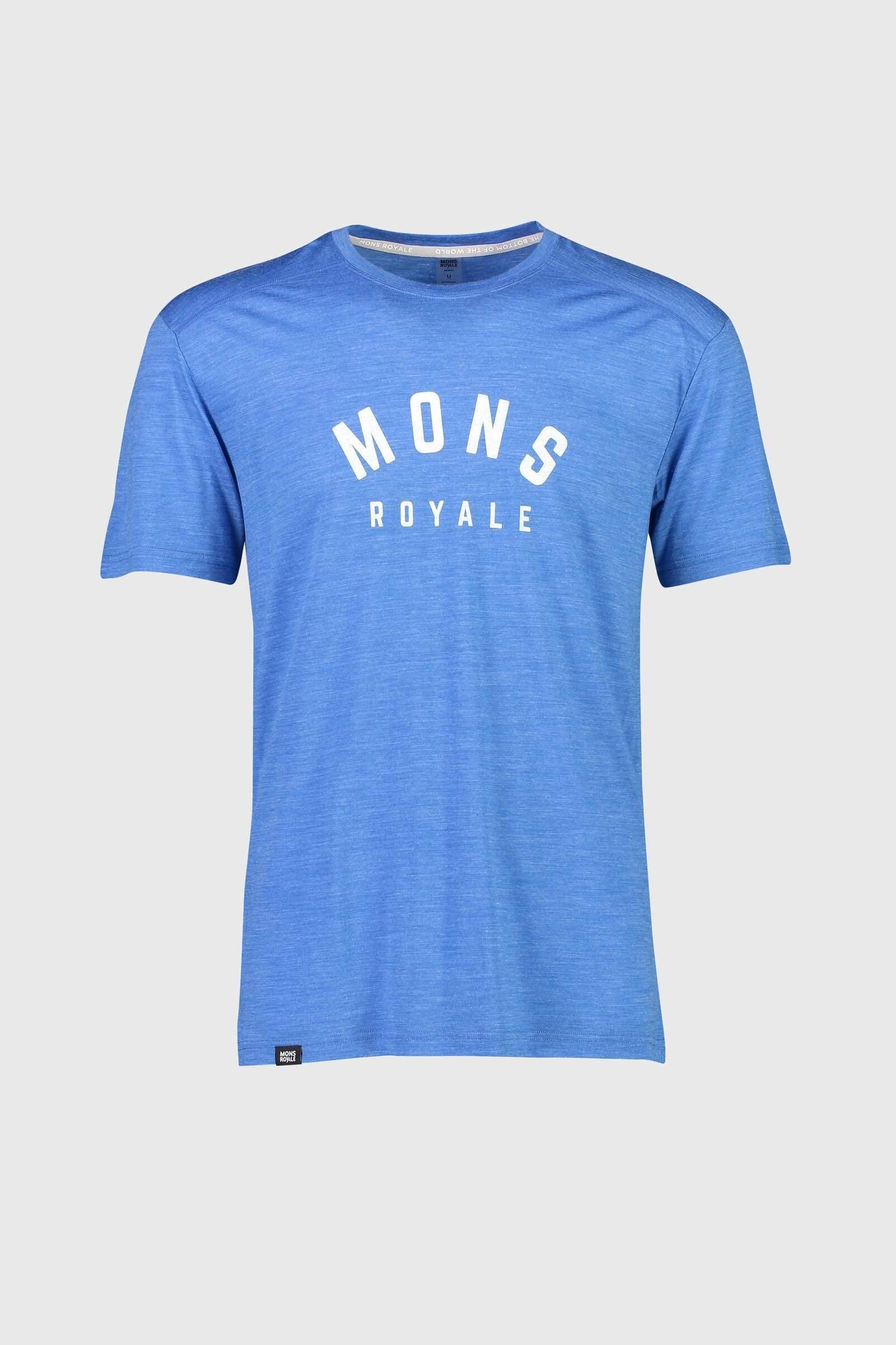 Mons Royale Vapour T Rebel Blue
