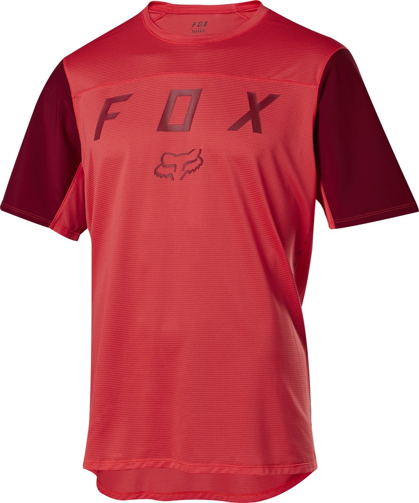 Fox Flexair SS Moth Jersey Bright Red