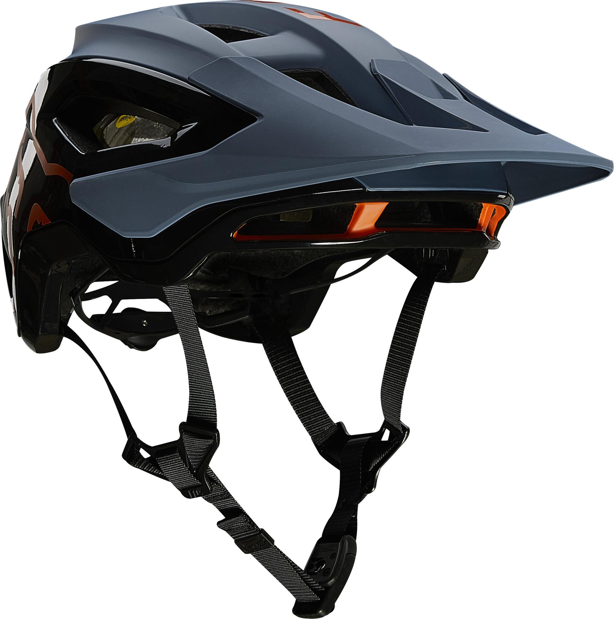Fox Speedframe Pro Helmet Blue Steel