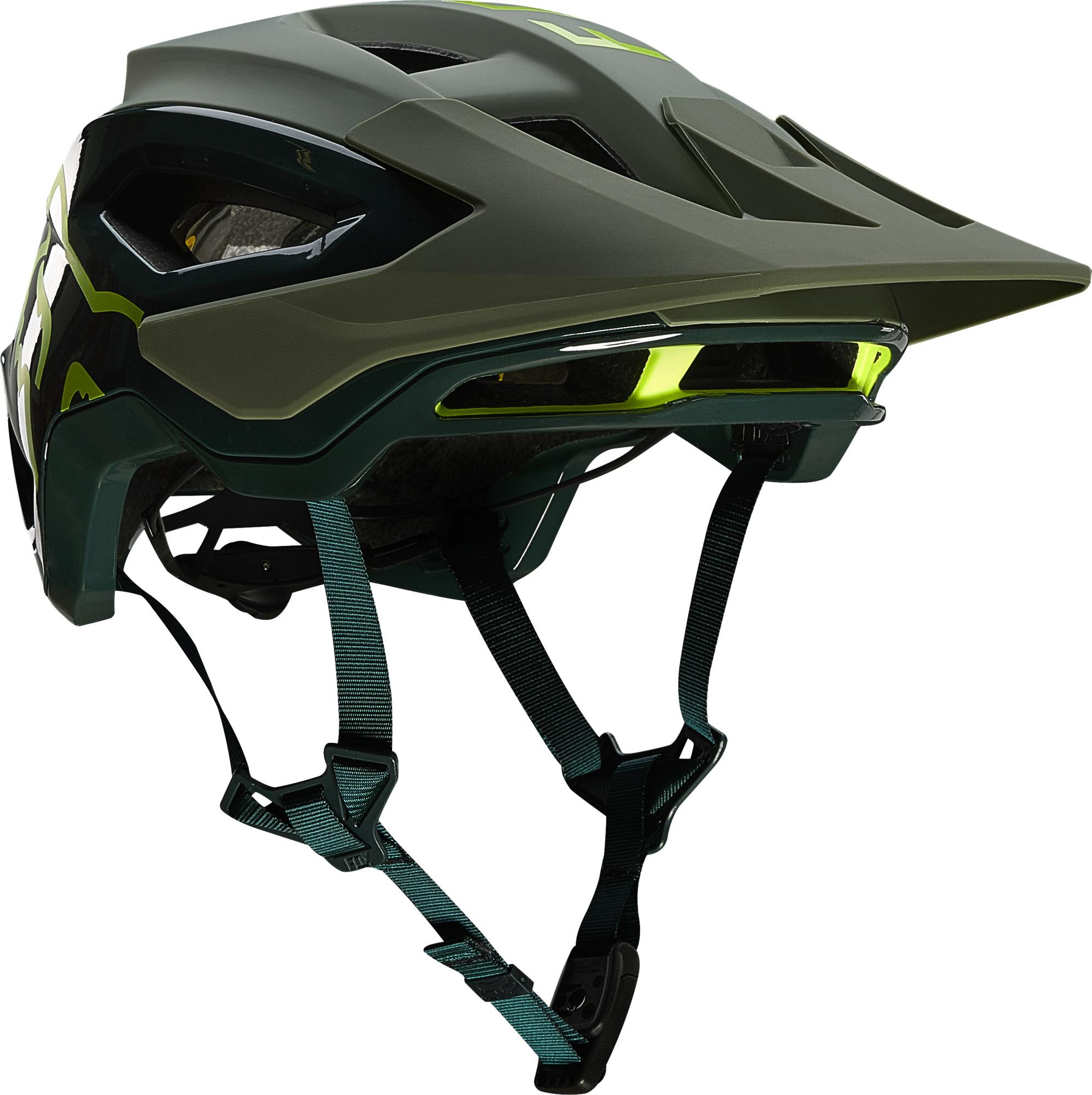 Fox Speedframe Pro Helmet Pine
