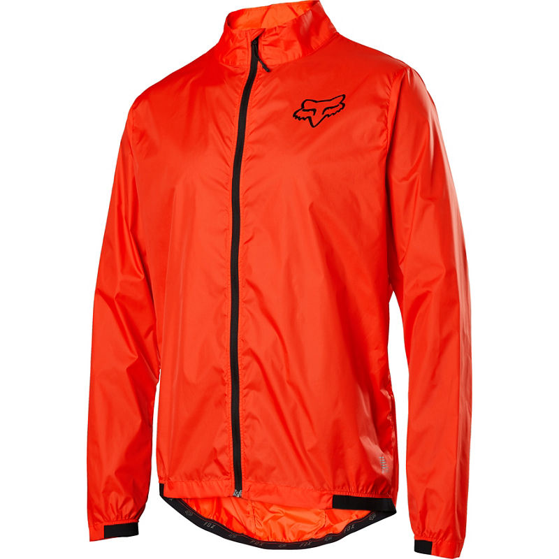 Fox Defend Wind Jacket Orange Crush