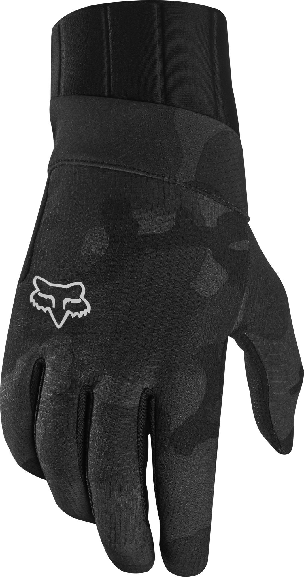 Fox Defend Pro Fire Glove Black Camo