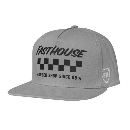 Fasthouse Fast Tribe Hat Grey