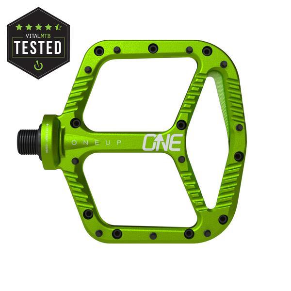 Oneup Aluminium Pedals Green