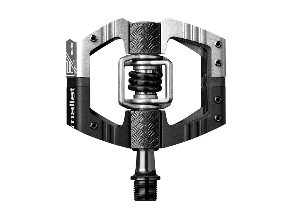Crankbrothers Mallet E Long Spindle Black/Silver